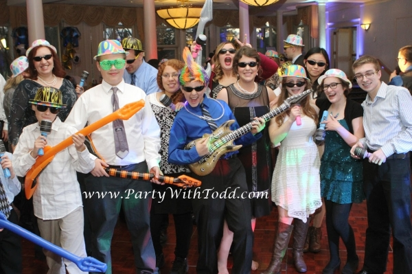 Albany NY Bar Mitzvah DJ Todd Moffre is  a GREAT choice for your entertainment.