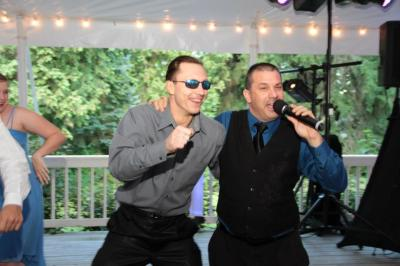 DJ Todd Moffre is a Fun and Friendly DJ that often gets the guests involved.